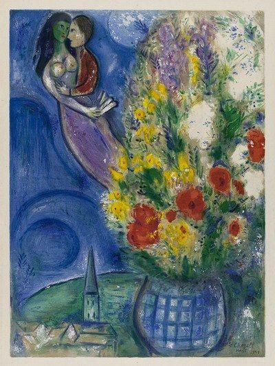 Love and Life: la storia e la poetica di Marc Chagall. #Chagall #Roma #ChiostrodelBramante #MarcChagall #LoveandLife #ChagallRoma