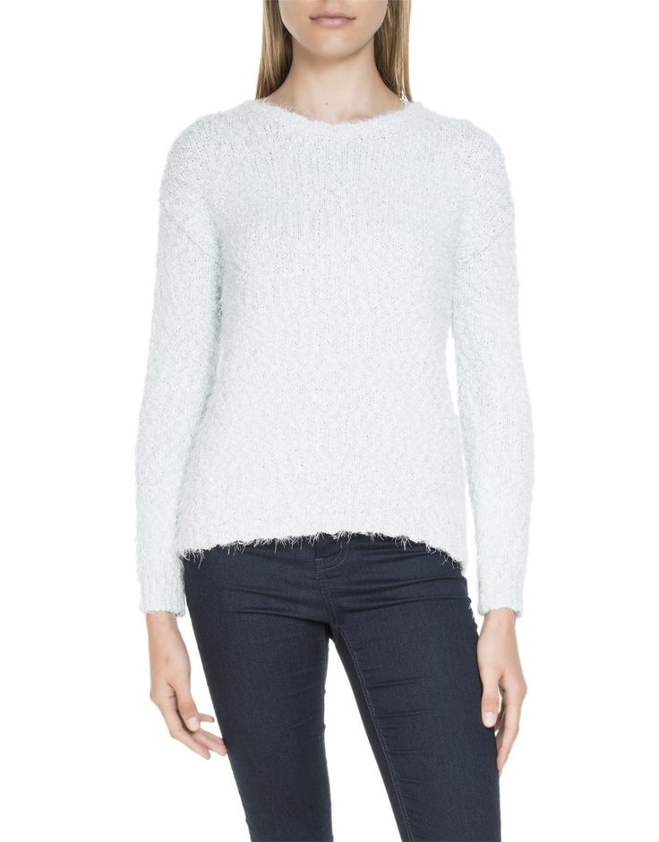 Fluffy Ovoid Pullover