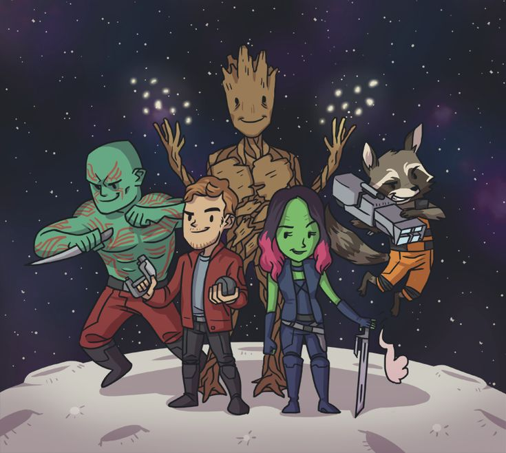 145 best Guardians of the Galaxy fanart images on ...