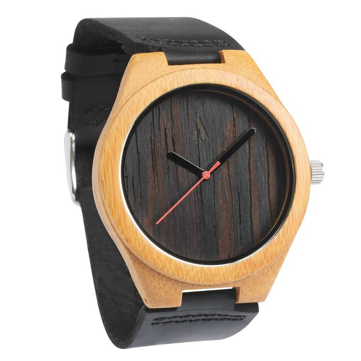 wood clock womens dial handmade leather genuine natural watches top wooden creative standard store gift bamboo product blue wristwatch ladies women quartz
