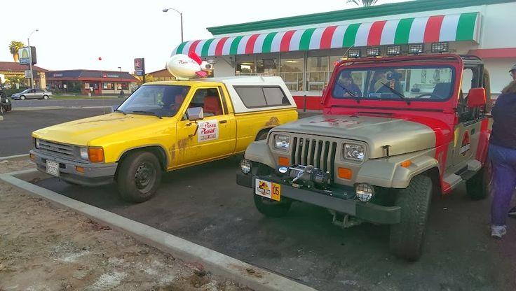 Jurassic Park 05 and Pizza Truck Meet at Joe's