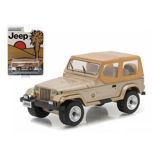 "1993 Jeep Wrangler Sahara ""Hobby Exclusive"" 1/64 Diecast Model Car by Greenlight"