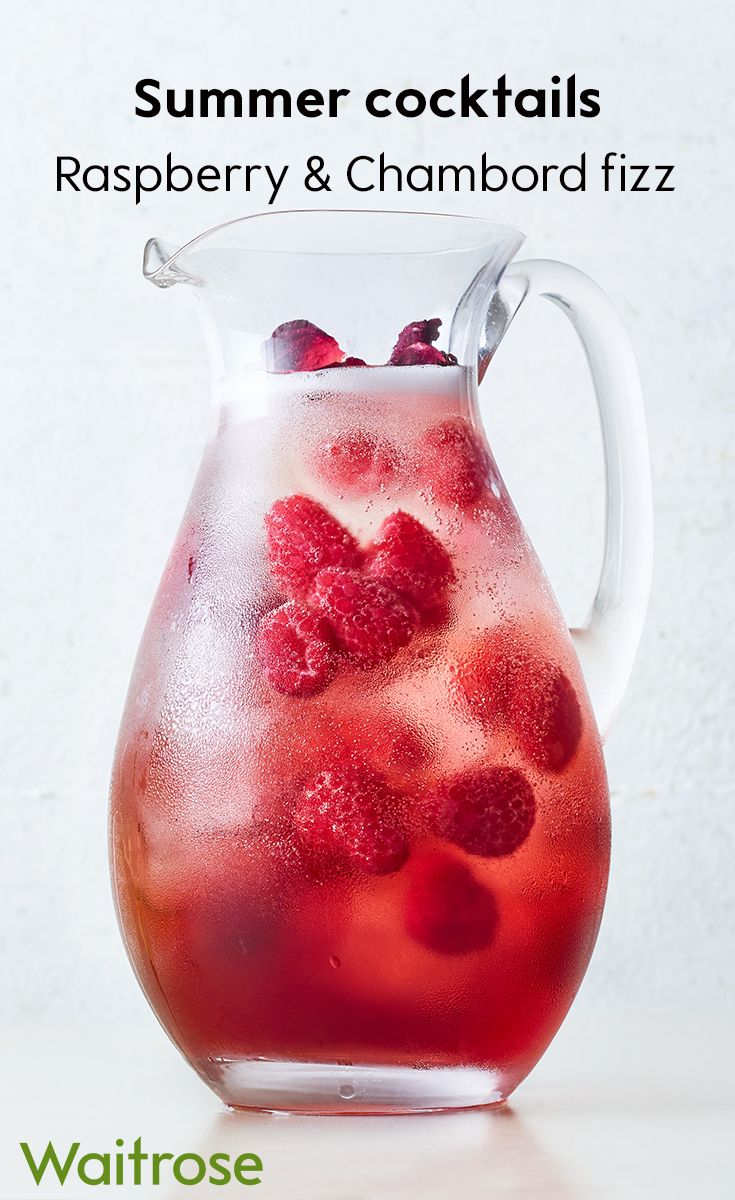 Made With Decant Raspberry Liqueur Our Raspberry And Chambord Fizz Is Sure To Become A Fruity F In 2020 Healthy Drinks Smoothies Smoothie Drinks Cocktail Recipes Easy