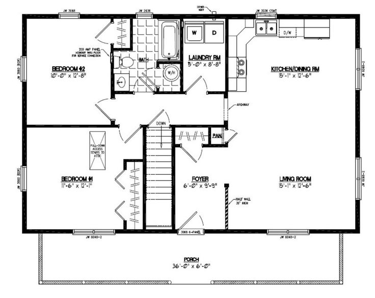 Perfect 30 30 house plans vx9 home addition plans for Cabin addition floor plans