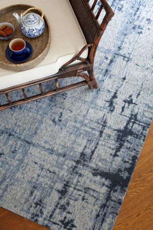 Hertex blue rug - for the bedroom?