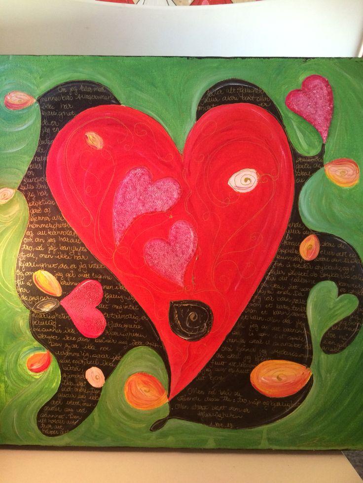 Kjærligheten utholder alt, tåler alt.. faller aldri bort ❤️