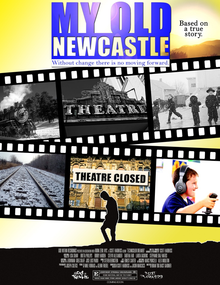 My Old Newcastle - Poster - Chantelle