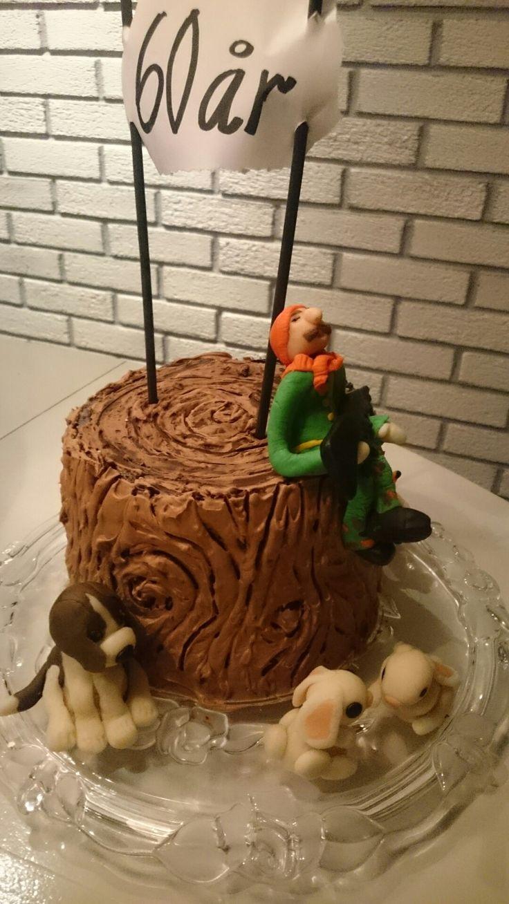 Kake for en jeger