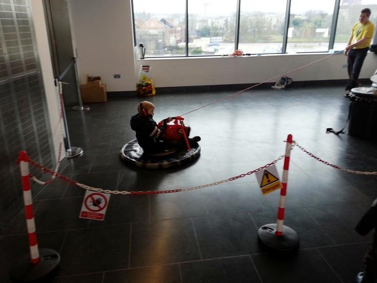 Personal Hovercraft at the Bristol Mini Maker Faire
