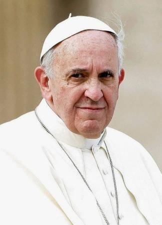 ローマ法王フランシスコ(ゲッティ=共同) ▼18Dec2014共同通信|ローマ法王が米キューバの橋渡し 両国首脳へ書簡、対話の場も提供 http://www.47news.jp/CN/201412/CN2014121801001200.html #Pope_Francis #Papa_Francisco #Papa_Francesco