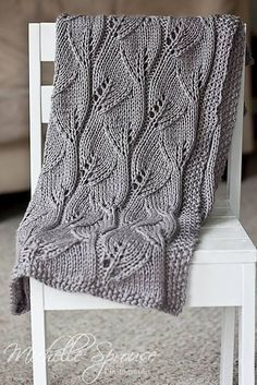 Cobertor do bebê frondoso por Leyla Alieva ** FREE PATTERN ** ~ PinDIv @ ~