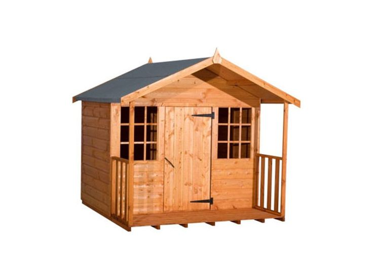 Strongman 8ft x 6ft 2.35m x 1.75m Loglap Wendyhouse