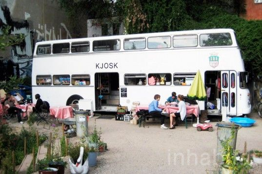 PHOTOS: 1970s Double-Decker Bus in Berlin Transformed Into Mobile Kiosk | Inhabitat - Sustainable Design Innovation, Eco Architecture, Green Building