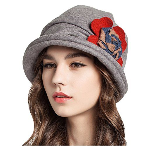2121978d750 The perfect Maitose Trade  Women s Decorative Flowers Wool Bucket Hat.    19.80 - 23.99  offerdressforyou from top store