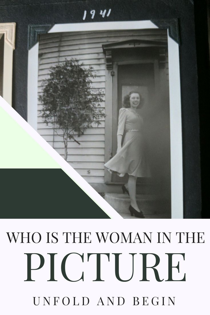 A young woman steps off a porch...what's her story…Edit description