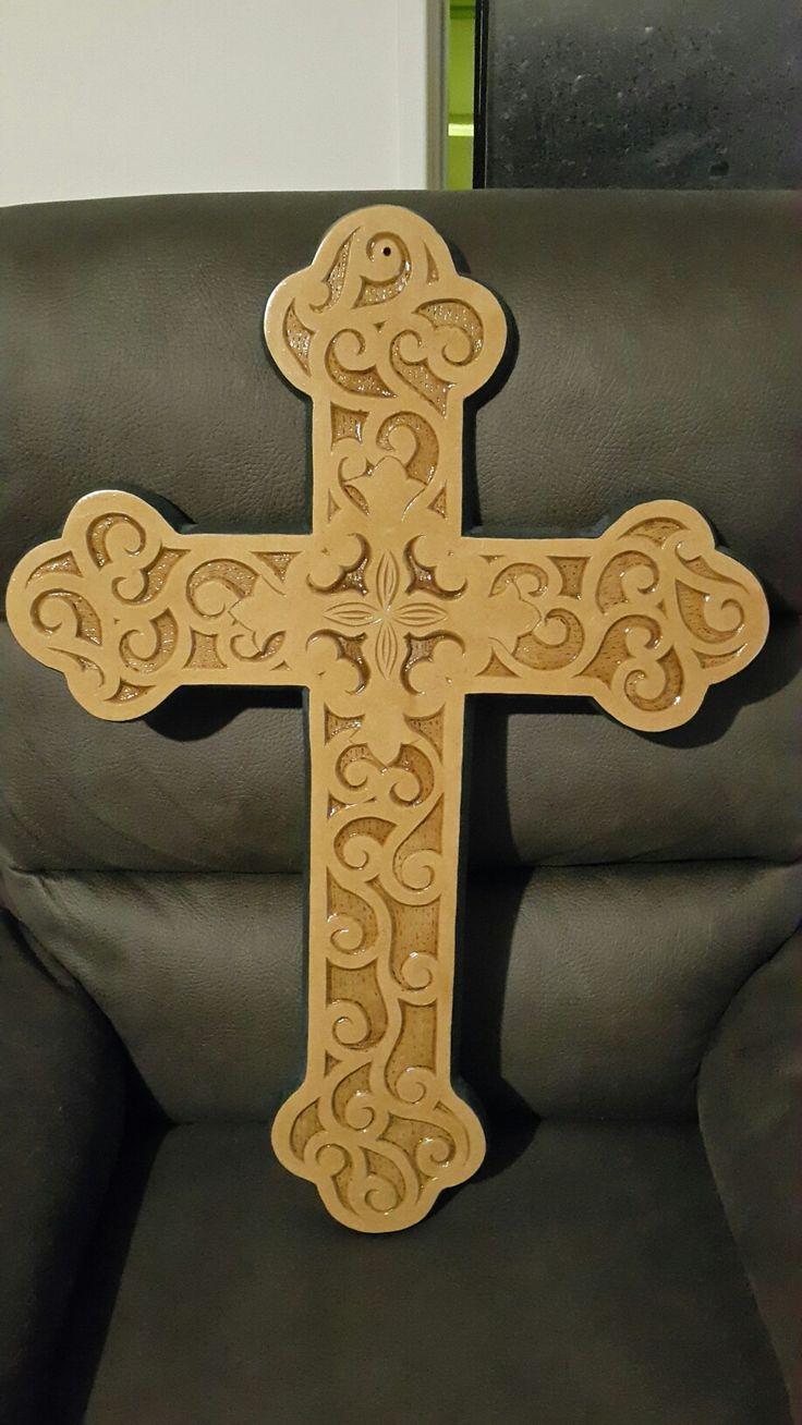 Varnished Cross