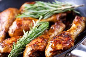 cosce di pollo al forno con salsa barbecue