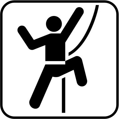 Pictograms-nps-land-technical rock climbing.svg