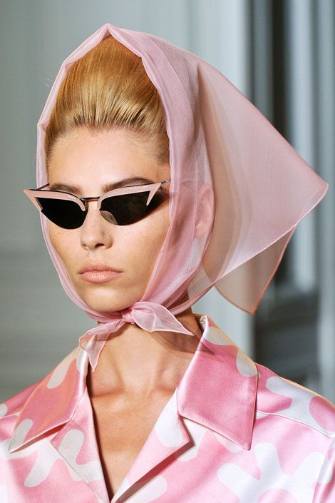 Cheeky. Rochas 2012.  I think my mom has a picture wearing almost this same thing in the 60's.  Even the glasses.