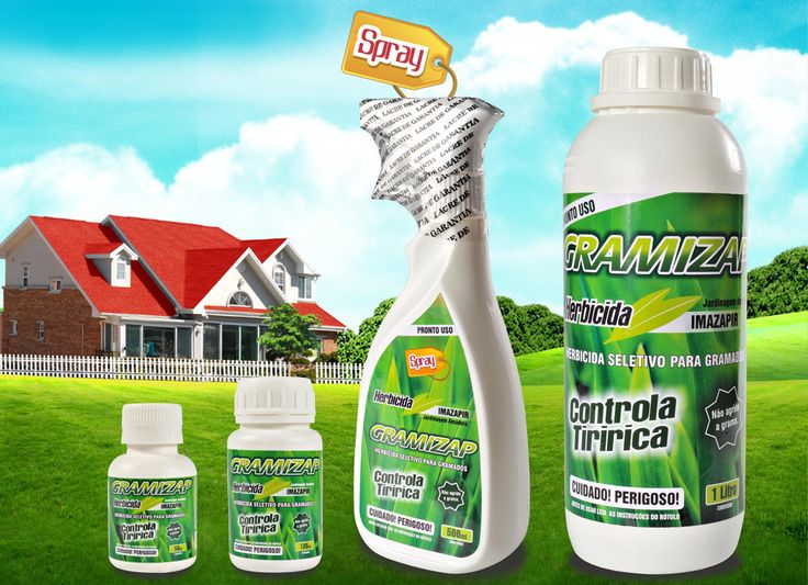gramizap - como acabar com a tiririca da grama