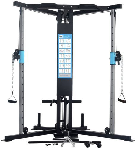 Men's Health Cable Cross Over Home Multi Gym - https://www.trolleytrends.com/?p=313074