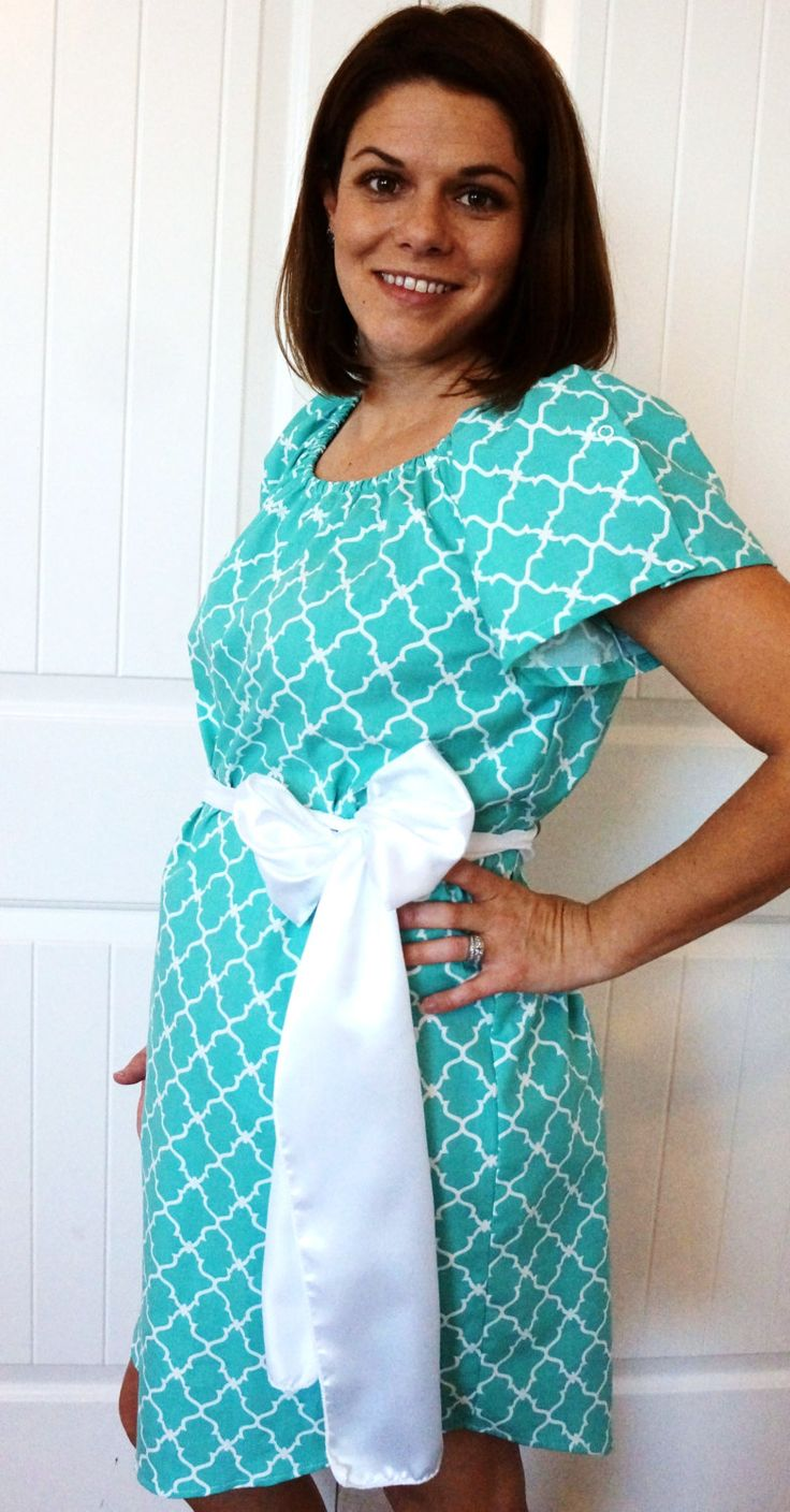 11 best hospital gown images on Pinterest | Maternity hospital gowns ...