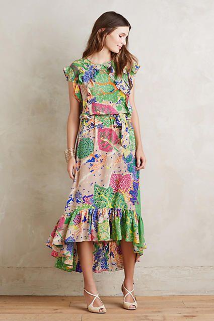 Cebu Silk Maxi Dress - anthropologie.com. ❤️ -Penny-
