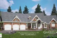 Nantahala Cottage 3 Car  House Plan 09057, Front Elevation, Mountain Style House Plans, Craftsman Style House Plans
