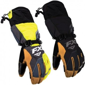 FXR Racing Tactic Air Mens Snowboard Skiing Snowmobile Gloves