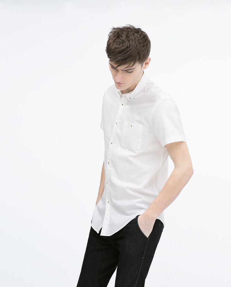 ZARA - MAN - Short sleeved shirt