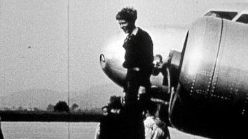 Never Before Seen Amelia Earhart Film Found
