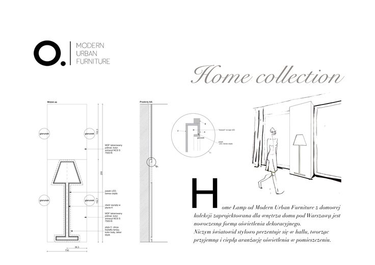 Home lamp from our Home collection.