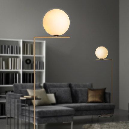 Find More Floor Lamps Information about 2016 Lustres new Brief modern milk white Round Glass Ball Floor Lamps Bedside Standing Lamp lovely decorative Home Light Fixture,High Quality Floor Lamps from Zhongshan East Shine Lighting on Aliexpress.com