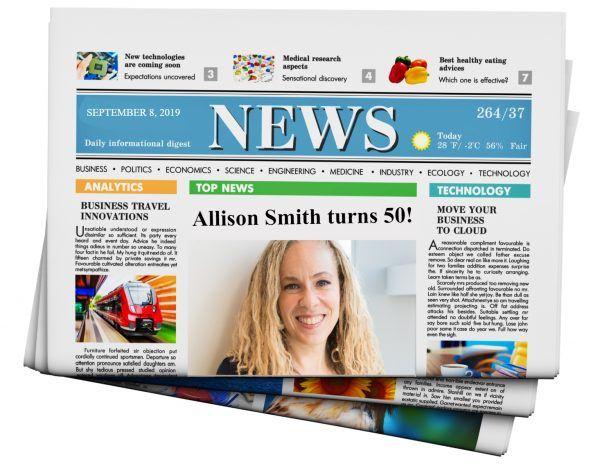 create your own fake newspaper headline free