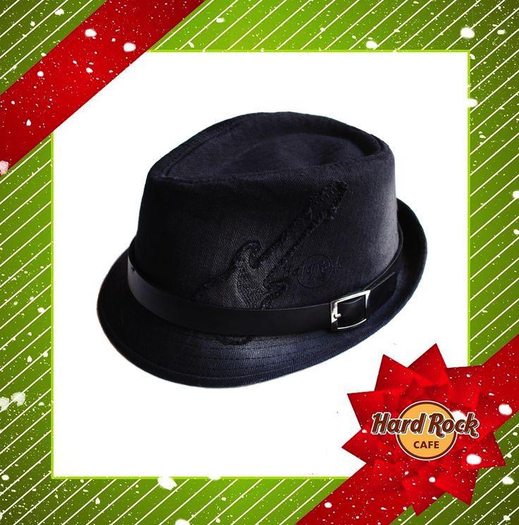 #natale 2014: #HRC #Guitar #Washed #Fedora #Hat  #HardRock4Xmas #gift
