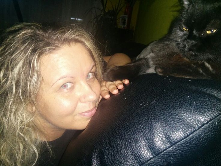 My cat and me.