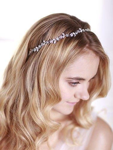 Rhinestone and Crystal Embellished Stretch Headband
