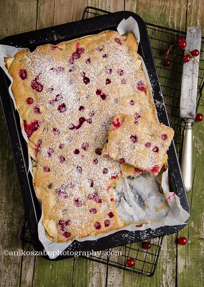 Apple and redcurrant pie/ Aniko Szabo Food Photography