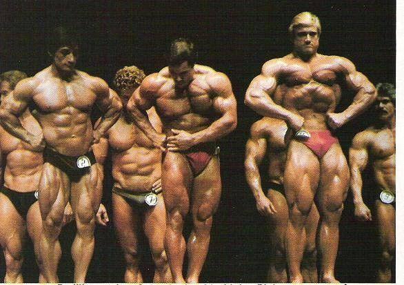 Денни Падилла (Danny Padilla), Франко Коломбо (Franco Columbu), Том Платц (Tom Platz), Мистер Олимпия 1981 года