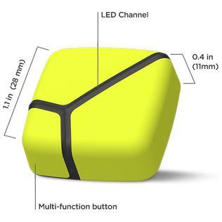 ZEPP Golf - 3D Bewegungsanalyse Klein und leicht ... Mit seiner geringen Größe von 28x28mm und 11mm Dicke, schmiegt sich der ZEPP Tennis 3D Sensor perfekt an Ihren Golfhandschuh. Seine 7,7g Gewicht sind nicht der Rede wert...