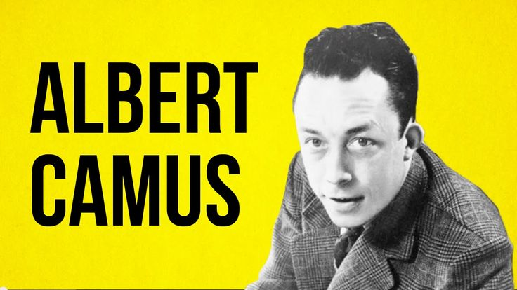 PHILOSOPHY – Albert Camus