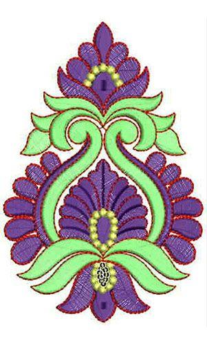 Hand Applique Embroidery Design