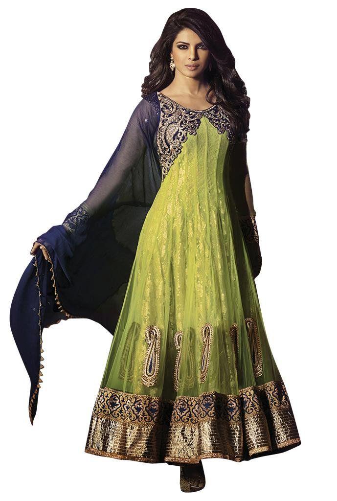 Anarkali Priyanka Chopra salwar-suit | www.iampiggychops.com #piggychops #priyankachopra