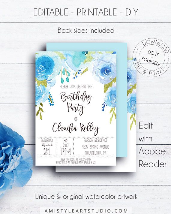 96 best Birthday Party Invitations images on Pinterest - fresh invitation card for birthday online