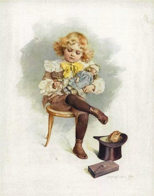 Днем, старинные открытки игрушки