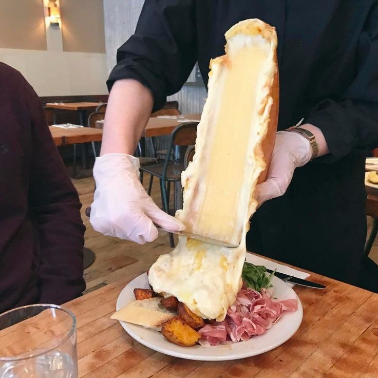 Raclette:  Melted cheese done right!  511 East 12th Street (East Village)