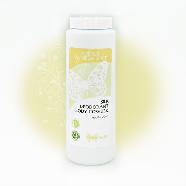 Women's Silk Deodorant Body Powder
