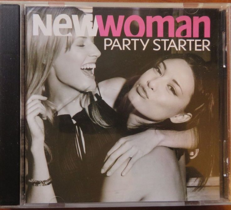 NEW WOMAN  PARTY STARTER   C.D. MUSIC 170
