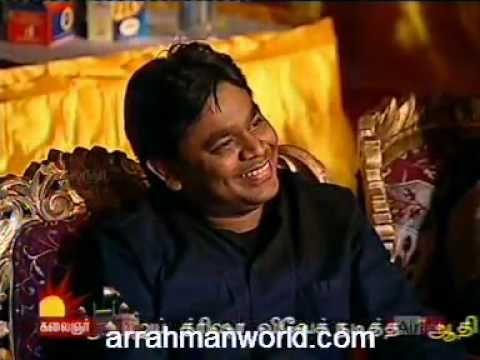 """Chinese singer singing """"Vande Mataram"""" song by A R Rahman."""