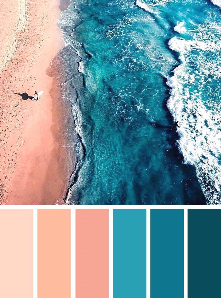 Inspiration Zone – Combinaties van kleuren om te versieren #agencement #peinture …
